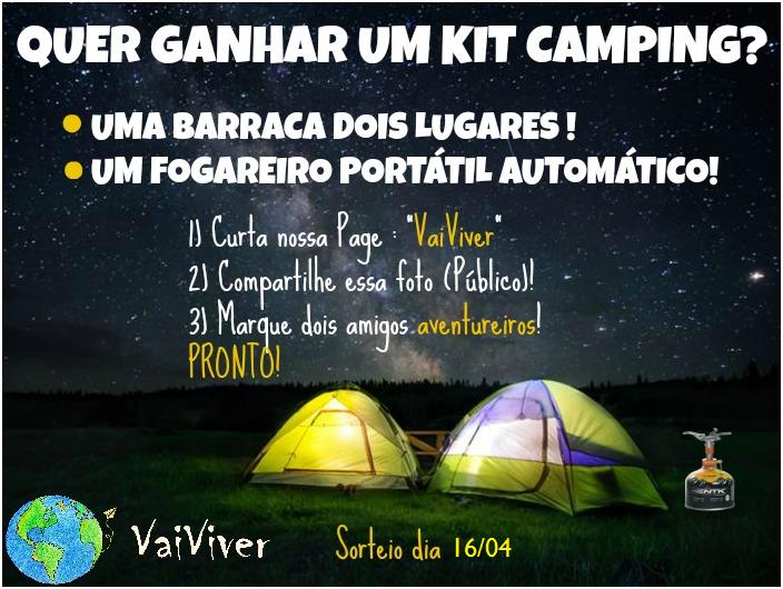 Promoção 2017: Concorra A Um Kit Camping!