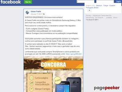 Sorteio: Smartphone Samsung Galaxy J1 Mini!