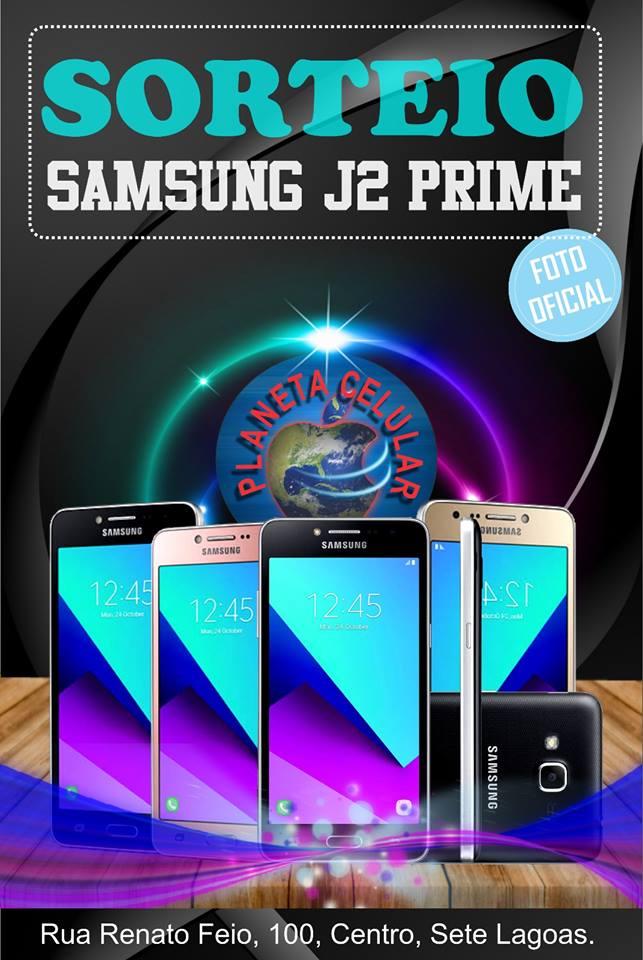 Sorteio 2017: Ganhe Smartphone Samsung J2 Prime