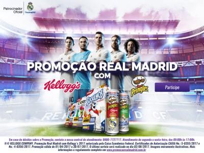 Promoção Real Madrid Com Kellogg???s E Pringles