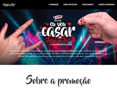 Promoção Eu Vou Casar No Rock In Rio