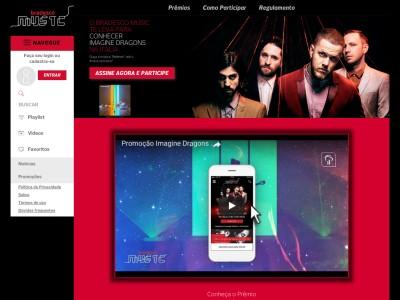 Promoção Bradesco Music Imagine Dragons Em Verona