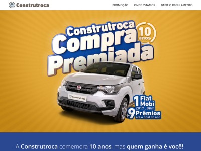 Promoção Construtroca Compra Premiada