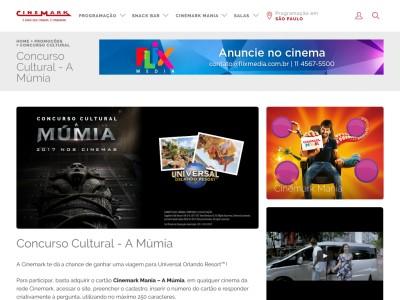 Concurso Cultural A Múmia