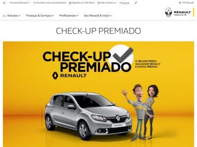 Promoção Renault Check-up Premiado