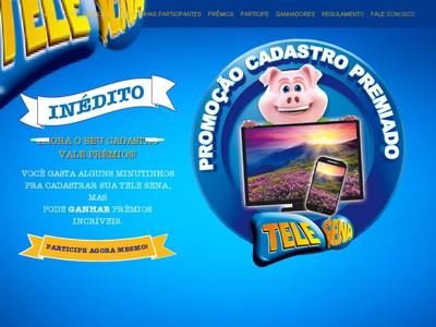 Promoção Cadastro Premiado Tele Sena