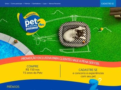 Promoção Seu Pet Te Leva Para Passear