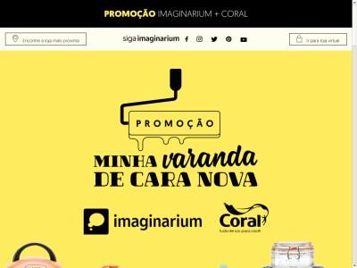 Promoção Minha Varanda De Cara Nova Imaginarium