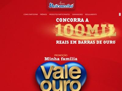 Promoção Minha Família Vale Ouro Vasconcelos