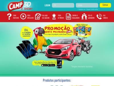 Promoção Camp 3d É Show