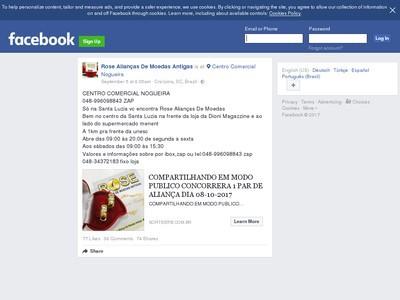 Sorteio De Aliança De Moedas Antigas. Participe!!!