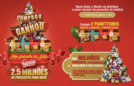Promoção Nestlé Comprou Ganhou Meu Presente De Natal