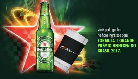 Promoção Heineken E Você Na F1