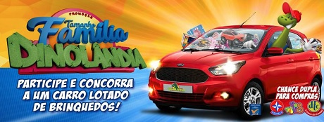 Promoção Tamanho Família Dinolândia