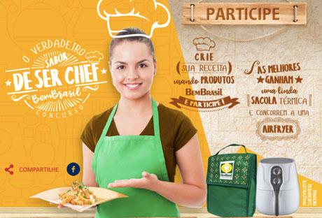 Concurso O Verdadeiro Sabor De Ser Chef Bem Brasil