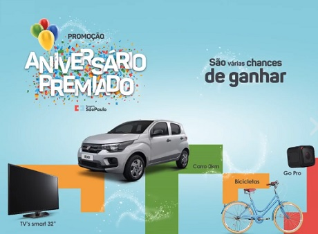 Promoção Aniversário Premiado Drogaria São Paulo