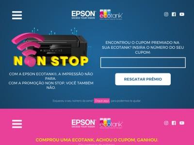 Promoção Epson Non Stop