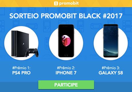 Promoção Sorteio Promobit Black 2017