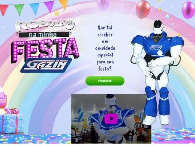 Promoção Robozão Na Minha Festa
