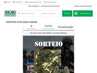 Promoção Sorteio Playstation 4 Cod Wwii Limited Edition
