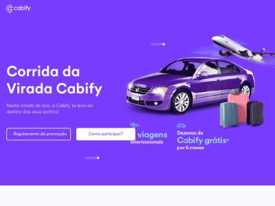 Promoção Corrida Da Virada Cabify