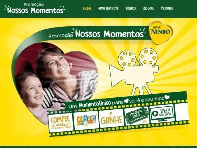 Promoção Ninho Nossos Momentos