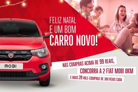 Promoção Natal Premiado Lojão Do Brás