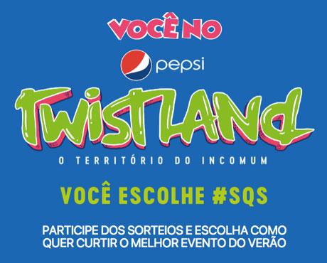 Promoção Você No Pepsi Twist Land
