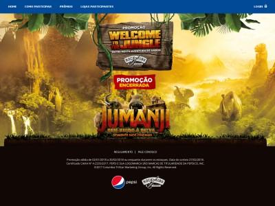 Promoção Rock & Ribs Welcome To The Jungle