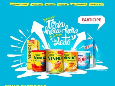 Promoção Nestlé Toda Hora É Hora De Um Ano De Leite