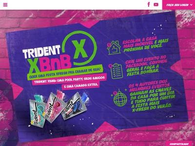 Promoção Trident Xbnb