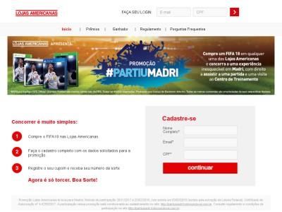 Promoção Lojas Americanas Te Leva Para Madrid