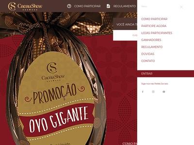 Promoção Cacau Show Ovo Gigante