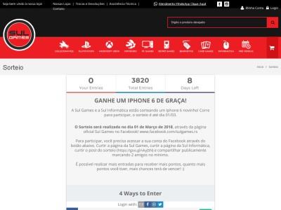Promoção Ganhe Um Iphone 6 De Graça