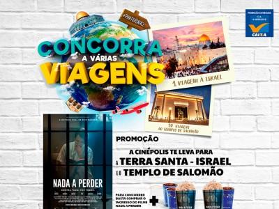 Promoção Cinépolis Te Leva Para A Terra Santa