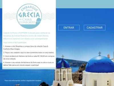 Promoção Embarque Para A Grécia Com Casa & Conforto By Zupper
