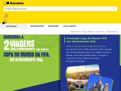 Promoção Visa E Saraiva Na Copa Do Mundo Da Fifa 2018