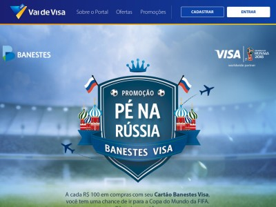 Promoção Banestes E Visa Pé Na Rússia