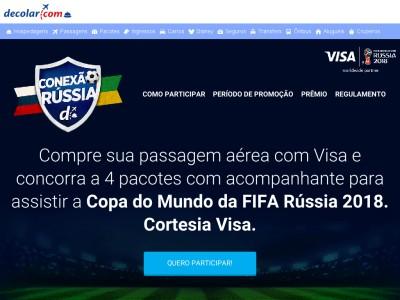 Promoção Visa E Decolar Conexão Rússia