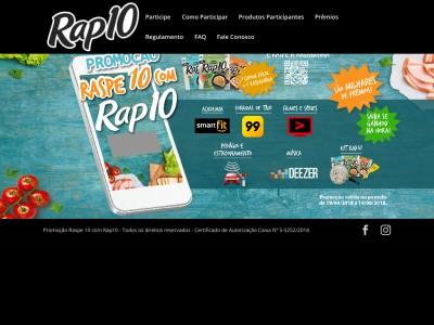 Promoção Raspe10 Com Rap10