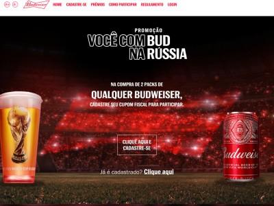 Promoção Você Com Budweiser Na Rússia