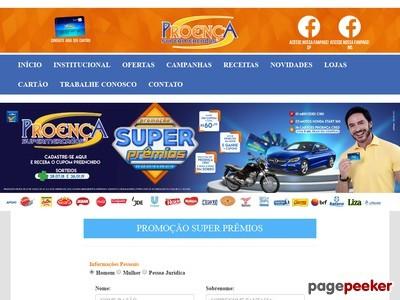 Promoção Super Prêmios Proença