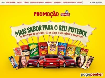 Promoção Elma Chips Mais Sabor Para O Seu Futebol