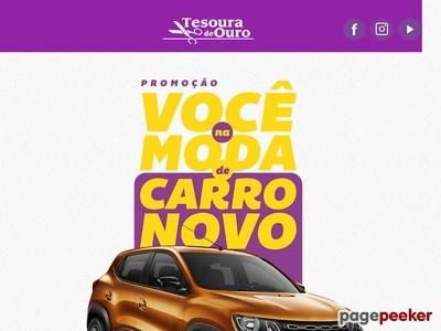 Promoção Tesoura De Ouro Você Na Moda De Carro Novo
