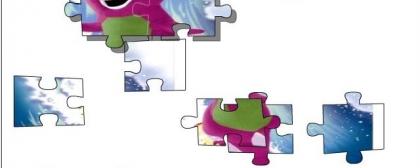 Barney Donosaur Kids Puzzle