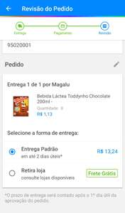 [app + Cliente Ouro] Toddynho Chocolate 200ml