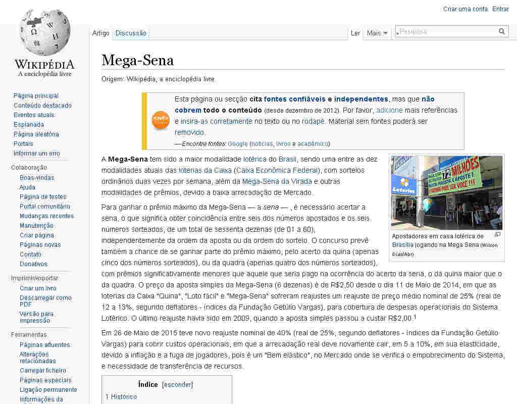 Wiki Megasena
