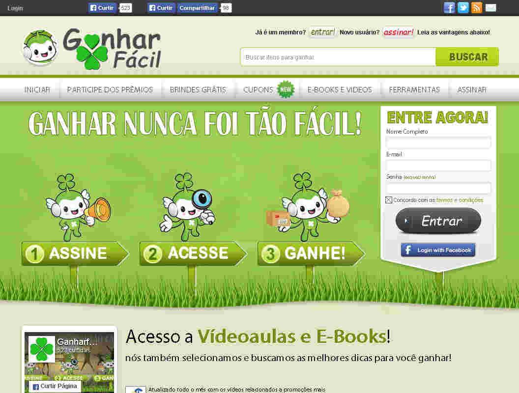 E-book Ganhar Em Loteria